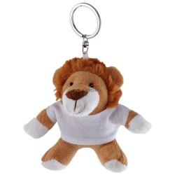 Lew z białą koszulką pod nadruk