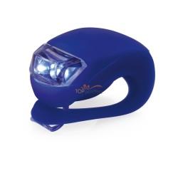 Lampka rowerowa, 2 LED, 3 funkcje
