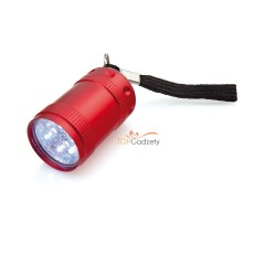 Latarka 6 LED z paskiem na nadgarstek