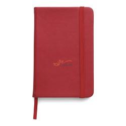 Notes / notatnik (100 kartek w linie), elastyczna nylonowa opaska do zamykania