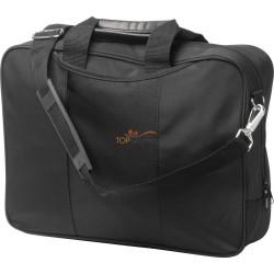 """Torba na laptopa 15"""" i dokumenty z kieszenią na zamek błyskawiczny, 2 wewnętrznymi kieszeniami oraz regulowanym paskiem na ramię"""