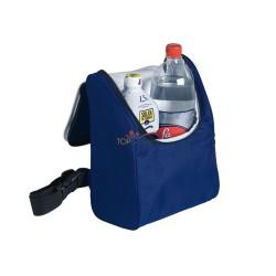 Plecak termoizolacyjny z główną przegrodą na zamek błyskawiczny i miękkim, regulowanym paskiem na ramię