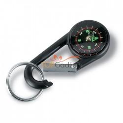 Karabinek z kompasem