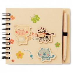 Notatnik dla dzieci z ołówkiem - 70 kartek