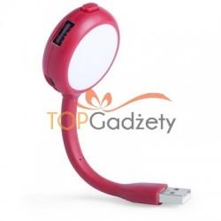Lampka USB, hub USB