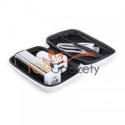 Zestaw podróżny, power bank i ładowarka samochodowa USB