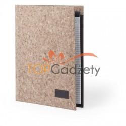 Teczka konferencyjna z notatnikiem (kartki w linie)