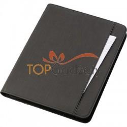 Teczka konferencyjna A4, power bank 5000 mAh, notatnik (kartki w linie)