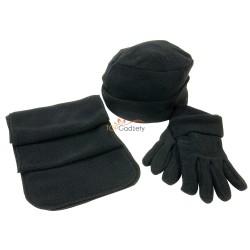 Zestaw zimowy, czapka, szalik, rękawiczki