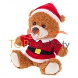 Miś ze strojem Świętego Mikołaja