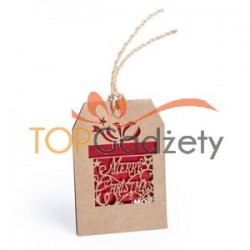 Świąteczna zawieszka do prezentów
