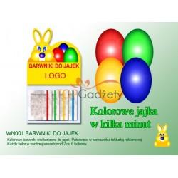 Farbki do jajek - kolorowe jajka w kilka minut
