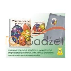 Książeczki magnetyczne z przepisami kulinarnymi