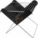 Składany grill w białym ozdobnym opakowaniu i pokrowcu