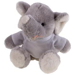 Słoń z koszulką pod nadruk