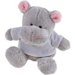 Hipopotam z koszulką pod nadruk