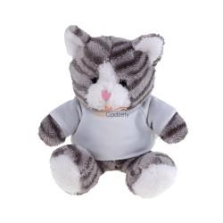 Kotek z koszulką pod nadruk